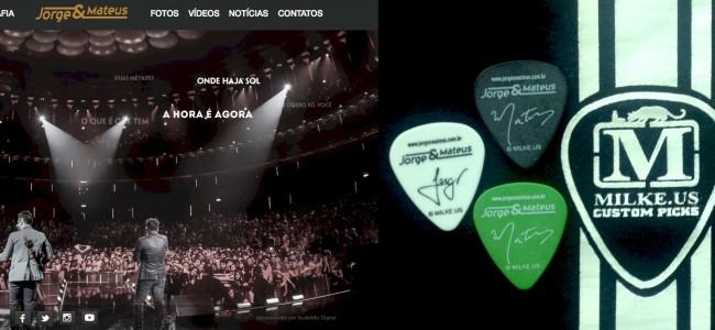 Jorge & Mateus / Milke.us